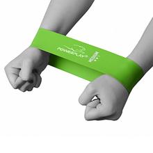 Фітнес резинка PowerPlay 4114 Medium Зелена SKL24-143785