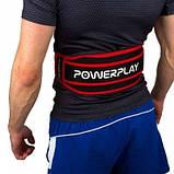 Пояс для важкої атлетики Power System 5545 Чорно-Червоний, Неопрен L SKL24-143928, фото 2