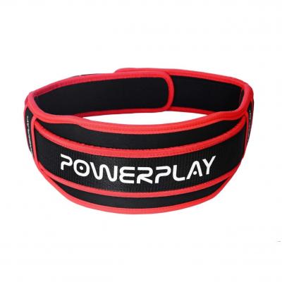 Пояс для важкої атлетики Power System 5545 Чорно-Червоний, Неопрен XL SKL24-143929