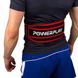 Пояс для важкої атлетики Power System 5545 Чорно-Червоний, Неопрен XL SKL24-143929, фото 2
