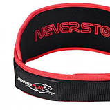 Пояс для важкої атлетики Power System 5545 Чорно-Червоний, Неопрен XL SKL24-143929, фото 4