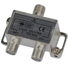 Разветвитель Splitter 2-WAY Germany 5-1000MHZ корпус металлический SKL31-150772