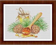 """Набор для вышивания крестиком """" Ложка мёда"""""""