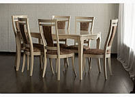Комплект стол и стулья Маркиз из дерева, фото 1