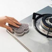 Губка для мытья посуды Облако серая SKL32-152821