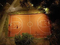 Двухслойное покрытие для баскетбольной площадки г. Харьков 7