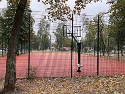 Двухслойное покрытие для баскетбольной площадки г. Харьков 12
