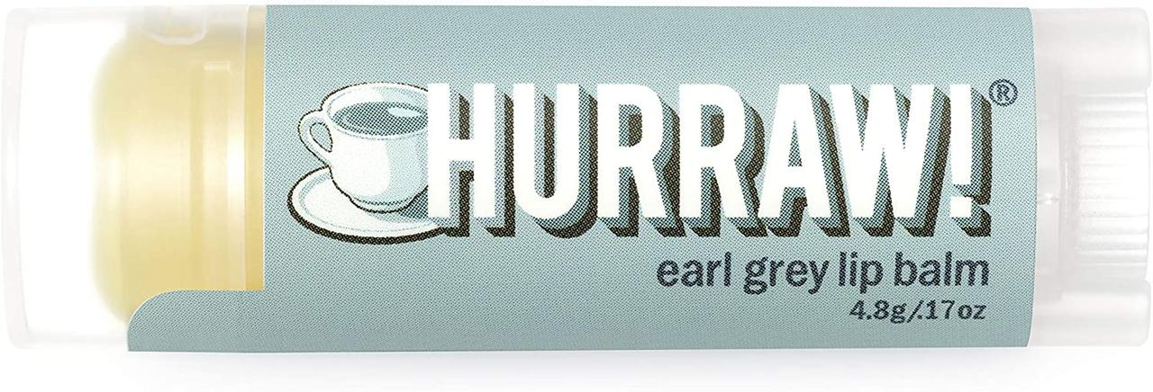 Hurraw! Earl Grey Lip Balm Бальзам для губ 4,8 г.