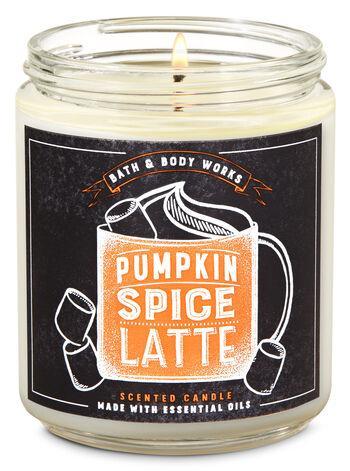 Ароматизированная свеча Pumpkin Spice Latte Bath & Body Works
