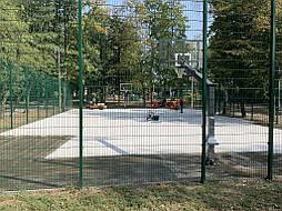 Двухслойное покрытие для баскетбольной площадки г. Харьков 13