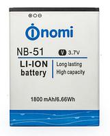 Аккумуляторная батарея Nomi NB-51, оригинал