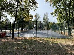 Двухслойное покрытие для баскетбольной площадки г. Харьков 6
