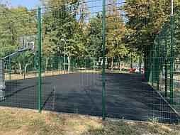 Двухслойное покрытие для баскетбольной площадки г. Харьков 11