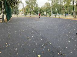 Двухслойное покрытие для баскетбольной площадки г. Харьков 2