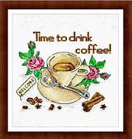 """Набор для вышивания крестиком """"Кофе"""""""