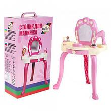 Трюмо столик  для макияжа ОРИОН 563 с принадлежностями.
