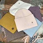 Тепла Жіноча шапка, фото 4