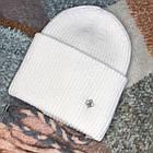 Тепла Жіноча шапка, фото 5