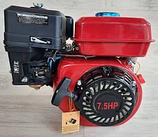 Двигун бензиновий DDE 170FB 7.5 к. с вал 19 мм під шпонку.