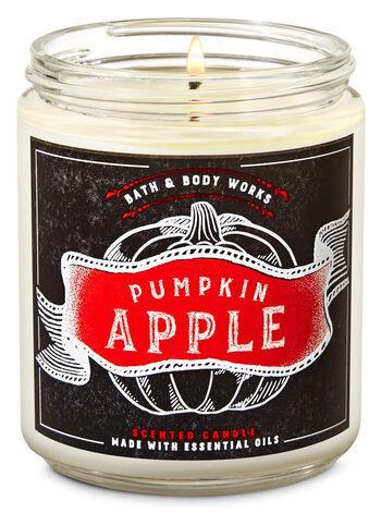 Ароматизированная свеча Pumpkin Apple Bath & Body Works