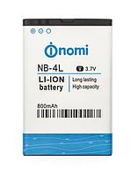 Аккумуляторная батарея Nomi NB-4L, оригинал