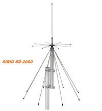 Антена базова дискоконусная широкосмугова SIRIO SD-2000N (200-2000MHZ) для скануючих приймачів