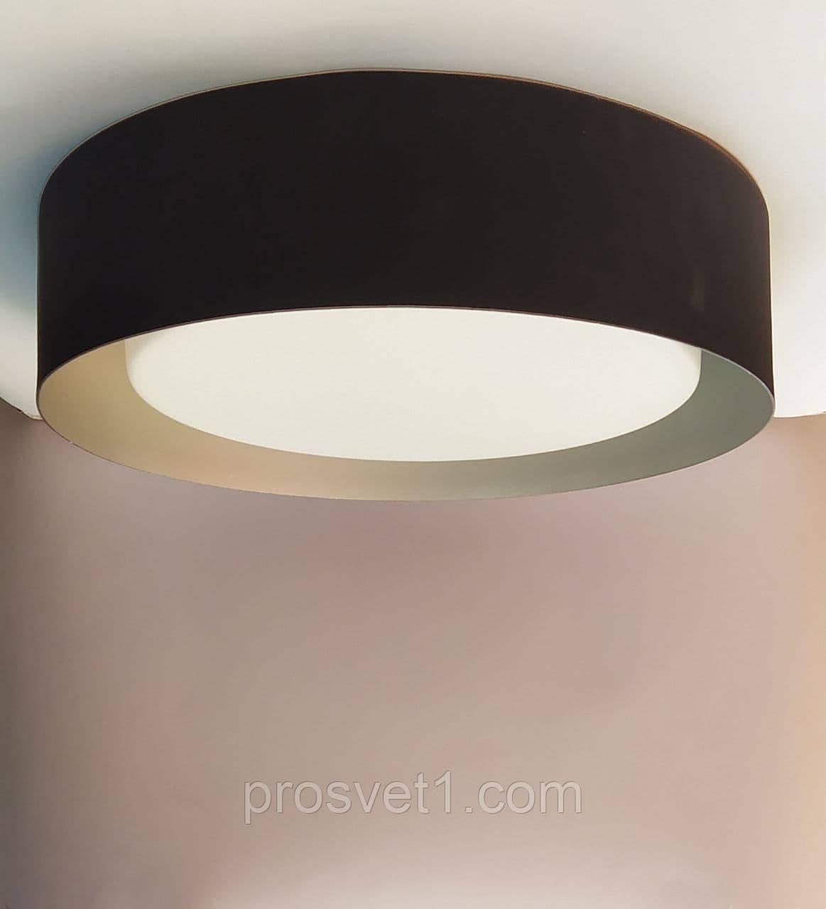 Светильник потолочный MX-A054  3*Е27 черный+хром