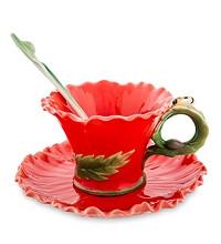Фарфоровая посуда Pavone Дизайн Маки