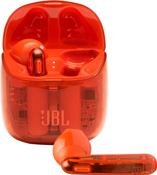Наушники JBL TUNE T225TWS Ghost Orange (JBLT225TWSGHOSTORG)
