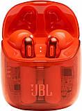 Наушники JBL TUNE T225TWS Ghost Orange (JBLT225TWSGHOSTORG) , фото 7