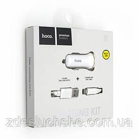 Авто зарядний пристрій Hoco Z1 Micro SKL11-229278