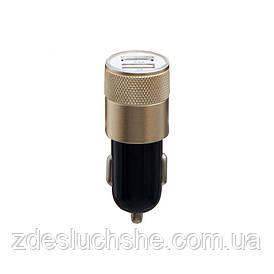 Авто зарядний пристрій M-06 2 Usb 2100 mAh SKL11-229252