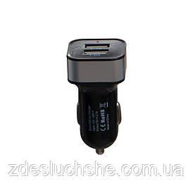 Авто зарядний пристрій M-09 2 Usb 2100 mAh SKL11-229251