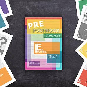 Англійські картки - Словосполучення з Прийменниками PREpositions