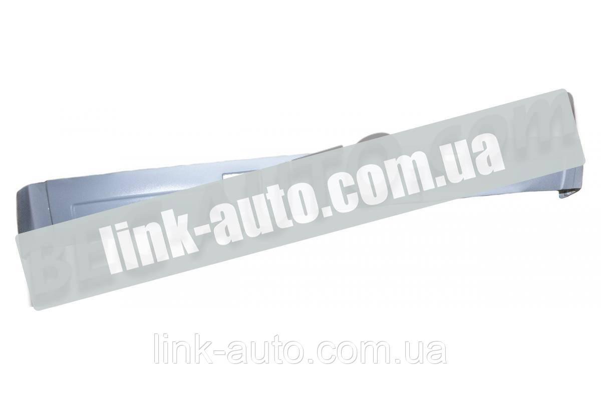 Бампер ПАЗ передний белый (пластик)
