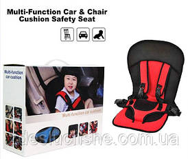 Детское автокресло Multi Function Car Cushion красное SKL11-235897