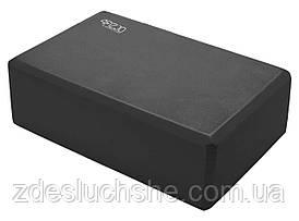 Блок для йоги 4FIZJO 4FJ1387 Black SKL41-227530