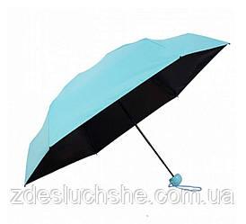 Мини-зонт в капсуле Capsule Umbrella mini blue SKL11-204005