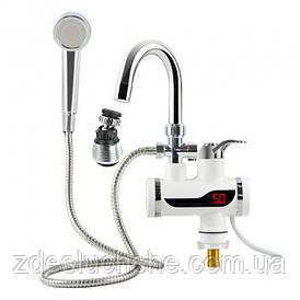 Кран-водонагрівач з душем і Lcd дисплеєм 3000 Вт SKL11-178385