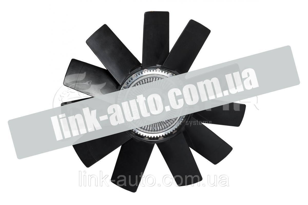Вентилятор радиат.механічний Газель-Бізнес,Next Cummins 2.8 (гідромуфта) LUZAR