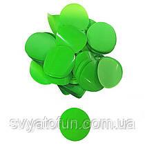 Конфетти Кружочки 35мм зеленый 250г