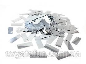 Конфетти Метафан серебро 250г