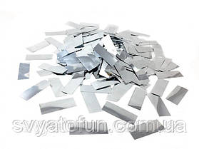 Конфетти Метафан серебро 50г