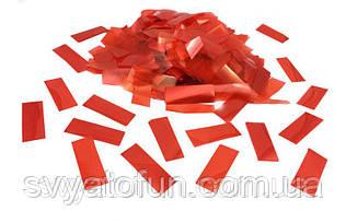 Конфетти Метафан красный 250г