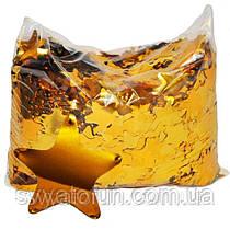 Конфетті Зірочки 35мм золото 250г