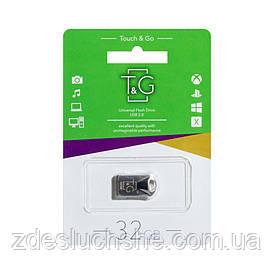 Накопичувач Usb Flash Drive T and G 32gb Metal 106 SKL11-232601