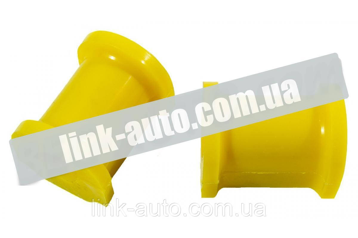 Втулка стабилизат. перед. 2110 (штанги) поліуретан жовтий. CS-20 (2шт)