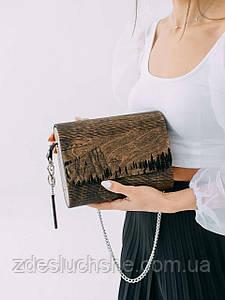 Сумка жіноча Amberwood Flannery кавовий SKL61-261261