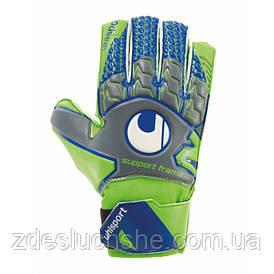 Вратарские перчатки Uhlsport Tensiongreen Soft SF Junior Size 7 Green-Blue SKL41-227593