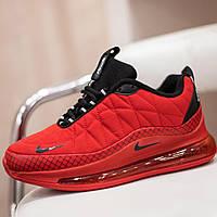 Nike Air Max 720 красные кроссовки женские червоні термо
